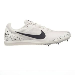 Nike Zoom Rival D White Racing Spikes